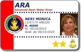 corso ARA - advanced o.w. diver