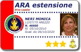 corso Ara Estensione - dive leader